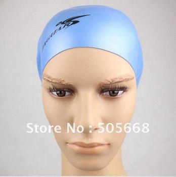 Free shipping Swimming Caps Silicone Swim Cap Silica gel Swim cap