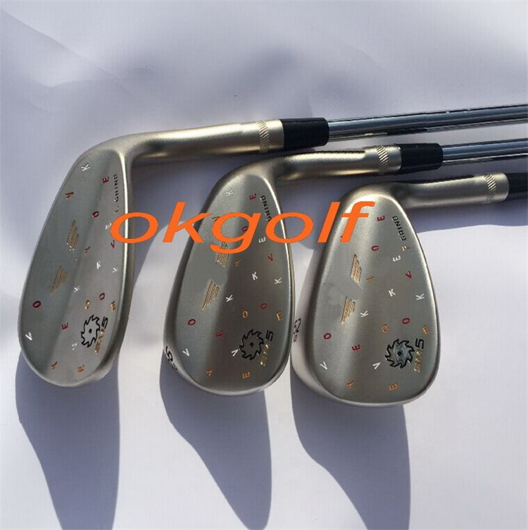 2015 New <font><b>golf</b></font> wedges Limited SM5 wedges 52/56/60 degree champagne/black /silver colors high quality <font><b>golf</b></font> clubs