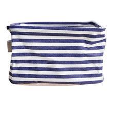 Cesta de la colada корзина для белья plegable de almacenamiento para colores Bin caja para guardar juguetes para armario organizador contenedor tela cesta envío de la gota(China)