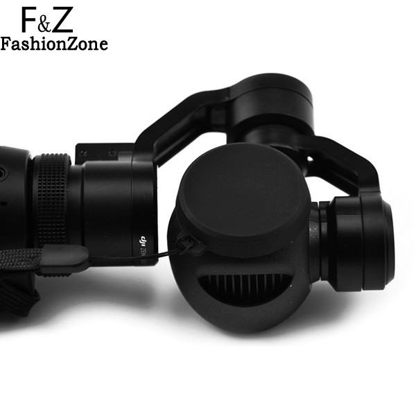 Main Replacement Spare Parts Camera Lens Protective Silicone Case Cover For DJI Osmo and Inspire 1 Camera Black High Quality