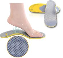 Sports insoles for man and women arch support breathable unisex free shipping feet care orthopedic flat foot shock health drop