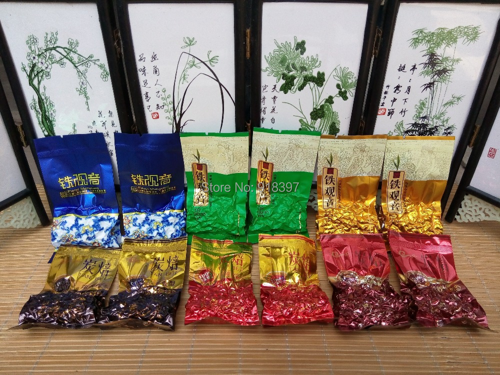 7 Different Flavors and Year a. tikuanyinTea.  .total 14 pcs 70g<br><br>Aliexpress