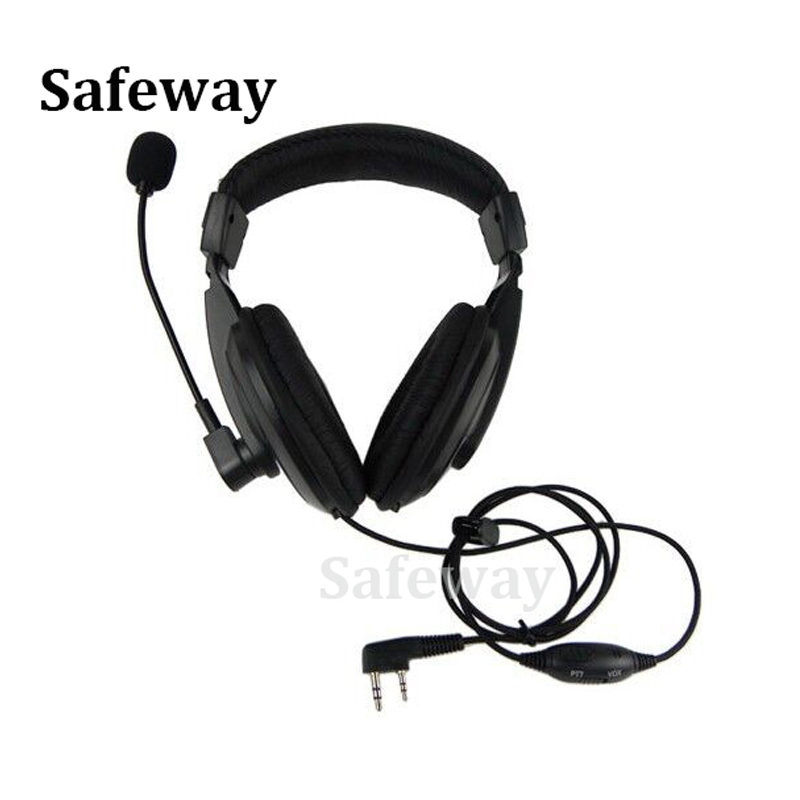 Walkie talkie headset with vox PPT push to talk for kenwood two way radio TK-3201, TK-3202, TK-3206, TK-3207 free shipping(China (Mainland))