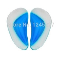 Kids insoles for children shoes flat feet care orthopedic insole free shipping arch support  2014 new silica Gel pad cushion