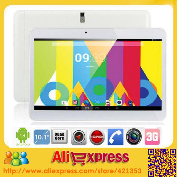 DHL Free Shipping Lenovo A101 10 inch Tablet PC MTK6582 Quad Core 3G  2GB RAM 16/32GB ROM Android4.4 1024*600 GPS Dual Sim(China (Mainland))