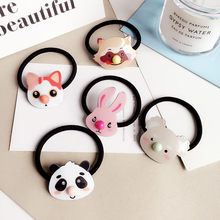 Buy 2017 New Cartoon Cute Elastic Hair Bands Accessories Panda Rabbit Bear Raccoon Headwear Hair Gum Holders Rubber Bands Headbands for $1.31 in AliExpress store
