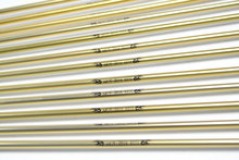 12pcs Archery Gold Aluminum Arrows 31 5 Inch 80cm Spine 500 7 9mm Plastic Feathers Steel