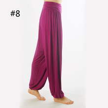 Women Comfy Harem Loose Long Pants Belly Dance Casual Boho Wide Trousers(China (Mainland))