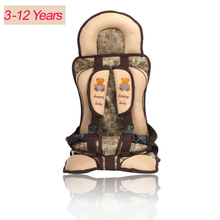 3-12 Years Old Lovely Baby Car Seat,Car Protection Kids,Portable and Comfortable Infant Baby Safety Seat,Practical Baby Cushion(China (Mainland))