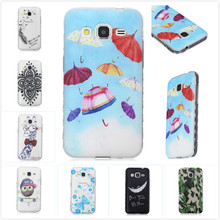 Hot Wavy Anti Slip TPU Silicone Cartoon Bear Camouflage Giraffe Pattern Phone Case For Samsung Galaxy Core Prime G360 G360H