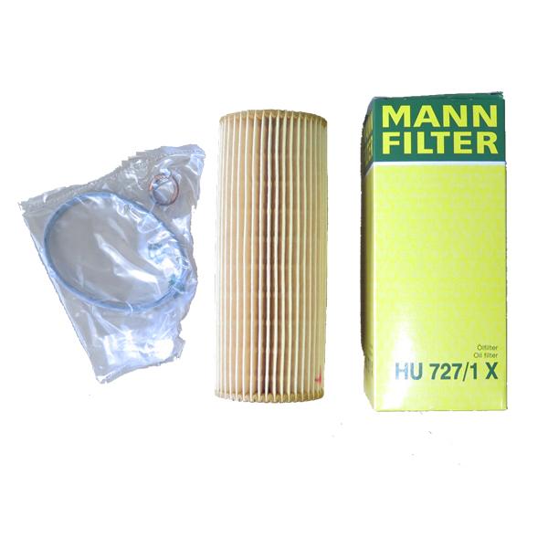 Mann Oil Filter HU727/1X for BENZ W203 W210 W140 W163 W463 VITO(China (Mainland))