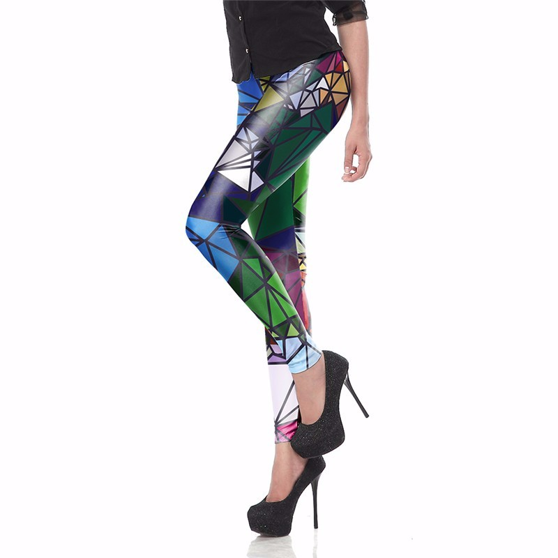 Living Dead New Fashion Women leggings Fitness 3D Printed color legins Ray fluorescence leggins pant legging for Woman KDK1401