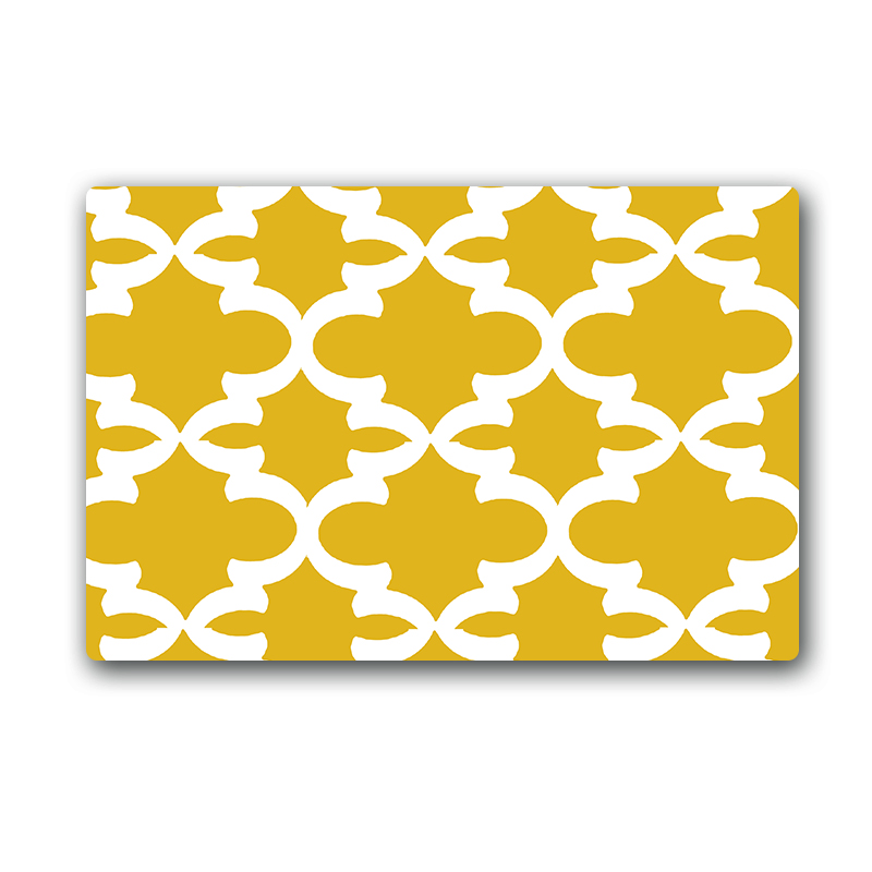 Yellow geometric rug promotion shop for promotional yellow geometric rug on - Yellow kitchen floor mats ...