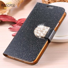 Buy KISSCASE Fashion Bling Diamond Glitter Leather Case Samsung Galaxy Note 3 4 5 Flip Stand Card Slot Cover Galaxy S3 S4 S5 for $3.99 in AliExpress store