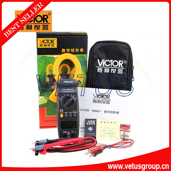 VICTOR6056C+ clip-on tables ammeter Digital Clamp Meter<br><br>Aliexpress