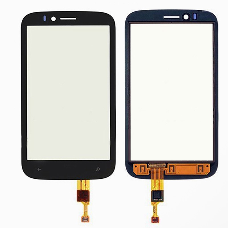 10pcs/lot Front Touch Screen Glass Digitizer Replacement Part For Verizon For Nokia Lumia 822(China (Mainland))