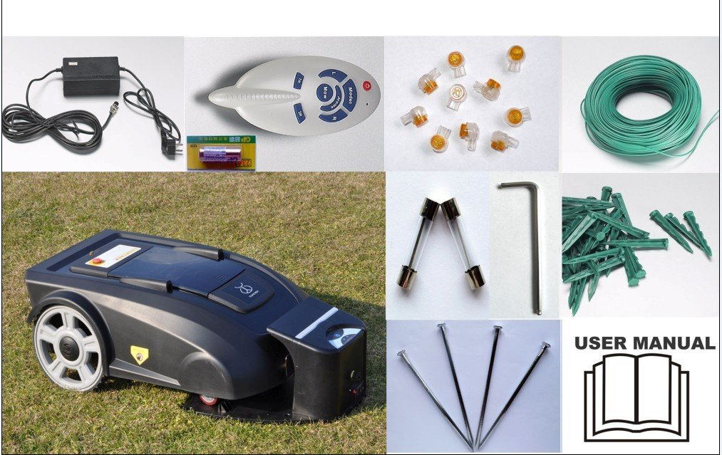 Robot Lawn Mower 2900 With Li-ion Battery+Remote Controller+Compass+CE&ROHS(China (Mainland))