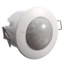360 Grad Mini Indoor Einbau PIR Decke Belegung Bewegungsmelder Schalter neues freies Verschiffen(China (Mainland))
