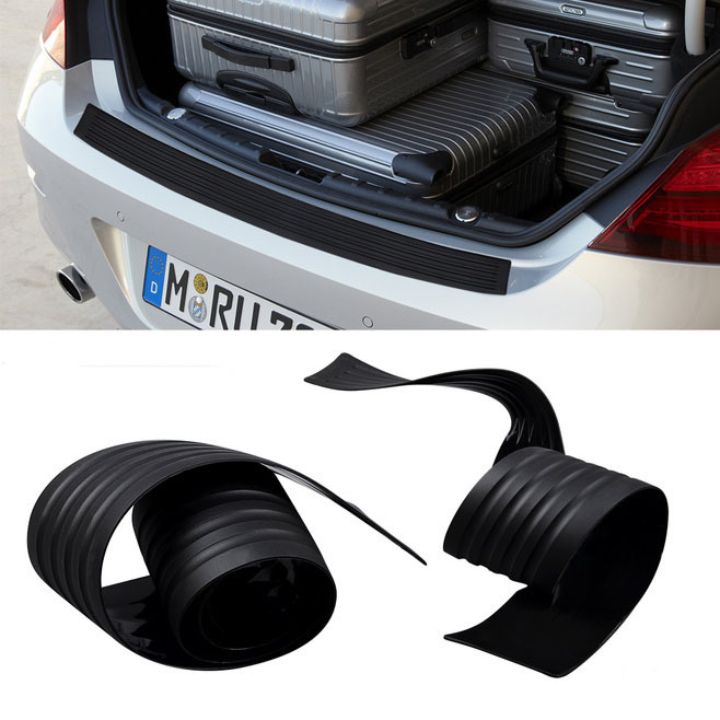 Rubber car bumper protection car sticker for E46 E90 E92 E93 E87 E60 F25 F18 X1 X6 X5(China (Mainland))