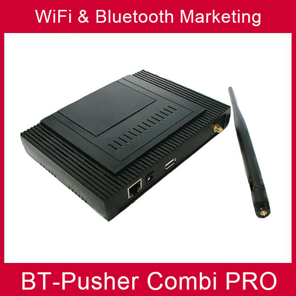 BT-Pusher wifi bluetooth mobiles marketing device COMBI PRO(advertisement product ) WITH car charger(China (Mainland))