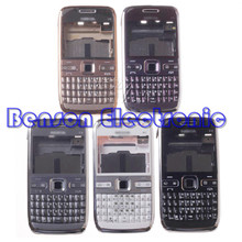 For Nokia E72 Brand New High Quality Phone Housing Case Replacement Parts With Keyboard + Buttons(China (Mainland))