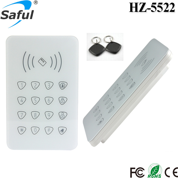 Free shipping 433MHz RFID Wireless Remote Access Control Keypad / Keyboard for GSM Alarm System<br><br>Aliexpress