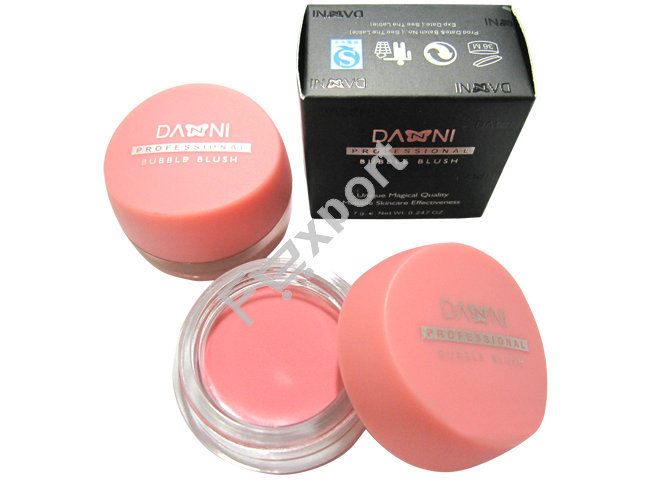 7g Pink Rouge Cream Bubble Blush Make up Blusher for Face,1021(China (Mainland))