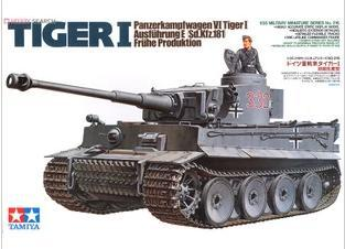 Tamiya model 35216 1/35 German Tiger I Early Production plastic model kit(China (Mainland))