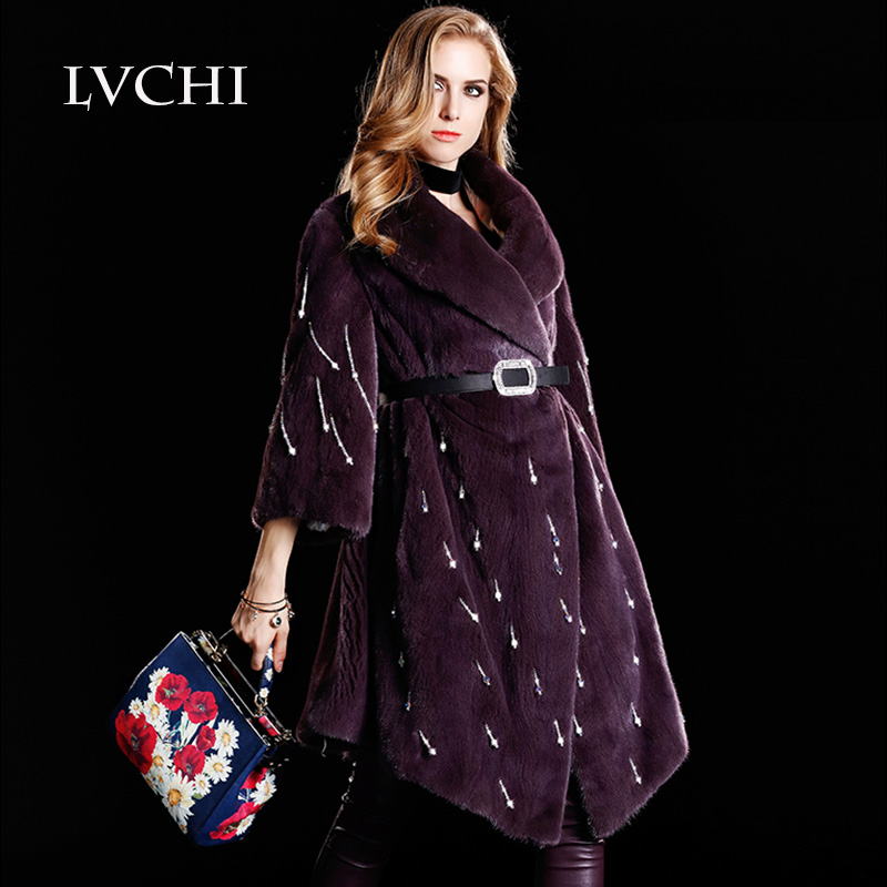 High Quality Purple Fur Coats Promotion-Shop for High Quality