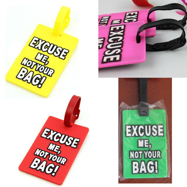 1 шт. багажа бирку дорожная сумка имя метки и адрес ID связаться чемодан безопасный
