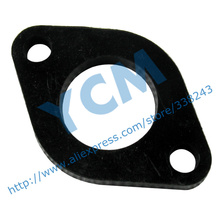 Intake Inlet Pipe Insulation Bakelite Mat Carburetor Interface GY6 125 150cc Scooter Engine 152QMI 157QMJ Spare Parts YCM