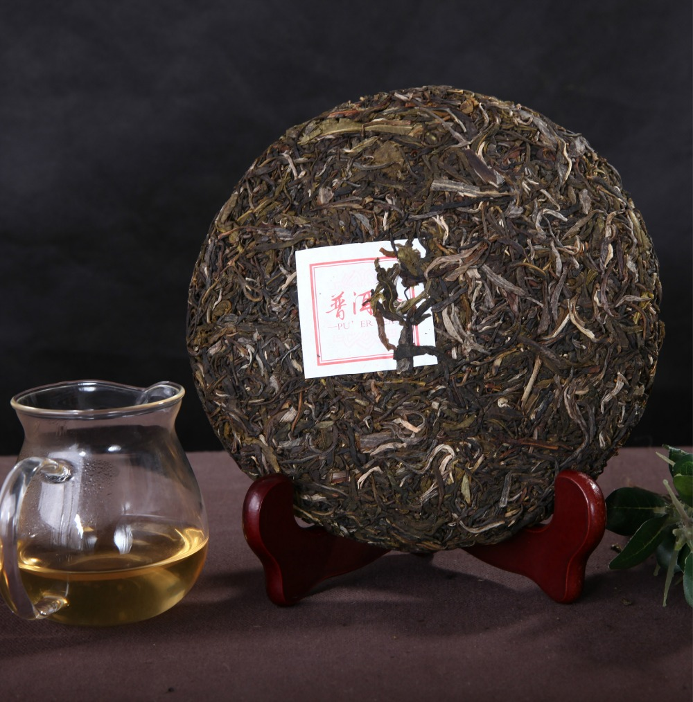 357g Chinese yunnan ripe Puerh tea pu er the China naturally organic matcha health care cooked