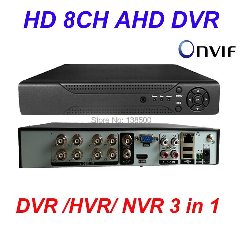 Гаджет  AHD Standalone 8CH Channel 960H HDMI D1 DVR H.264 CCTV Surveillance Security Video System None Безопасность и защита