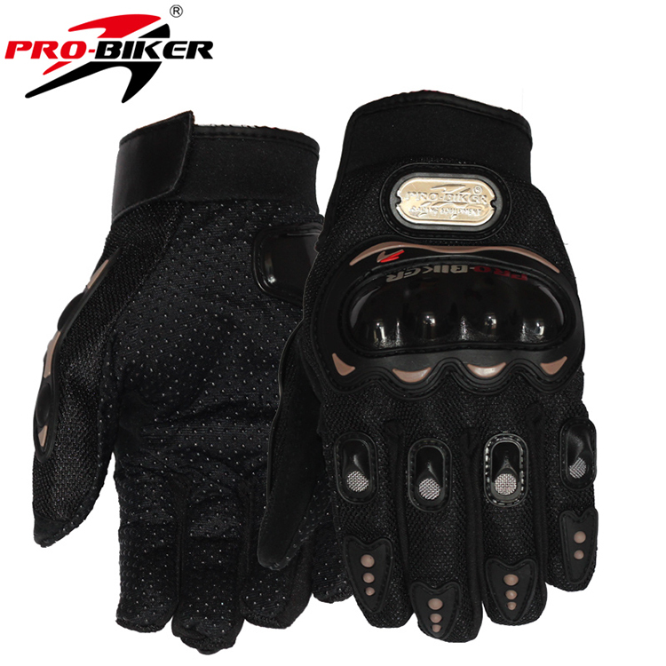 Hot Sale 1 Pair Black Sports Motorbike Motorcycle Gloves 3D-Dimensional Breathable Mesh Fabric Summer  Popular Leather Glove(China (Mainland))