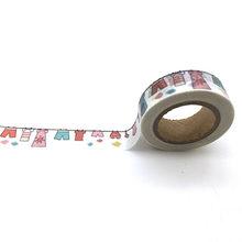 Nuestro diseño 2000 estilo jiataihe washi cinta scrapbooking kawaii decorado vintage oro cinta adhesiva diy 1 rollos/lote envío gratis(China)