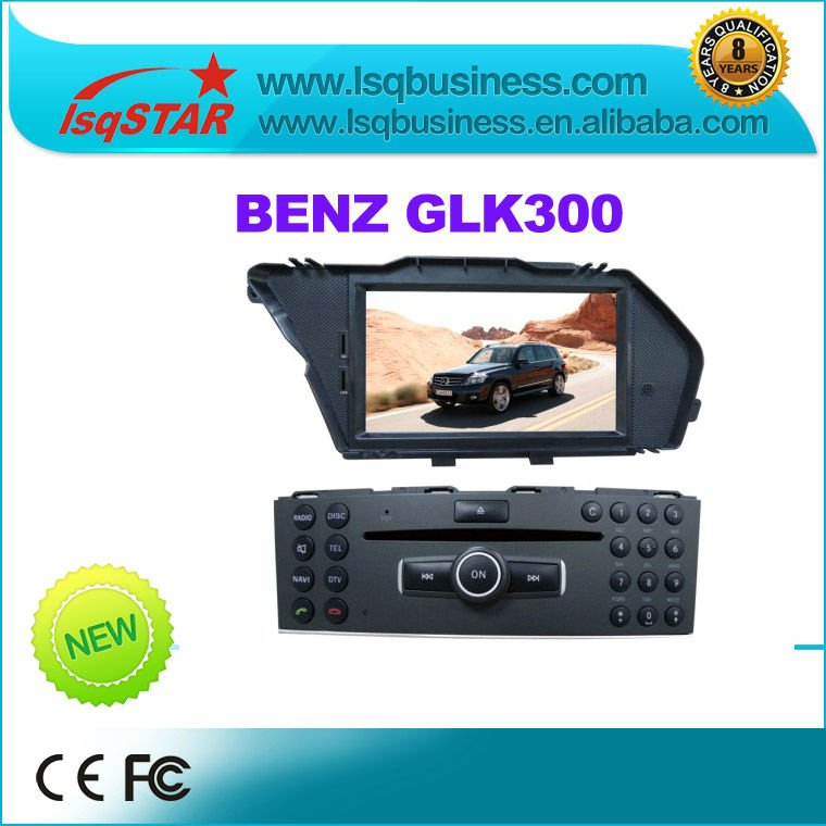 Car DVD for Mercedes Benz GLK300 with GPS Navi free shipping!(China (Mainland))