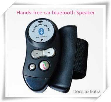 Cheapest Car bluetooth fit all brand auto handsfree kit Suitable for most sell phone Replacable battery Advanced Visor Car Kit.(China (Mainland))