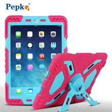 Top silicone strong standing Protective Case Cover for Apple iPad 2 For iPad 3 for iPad 4 for kids,Toddlers,Babies and parents(China (Mainland))