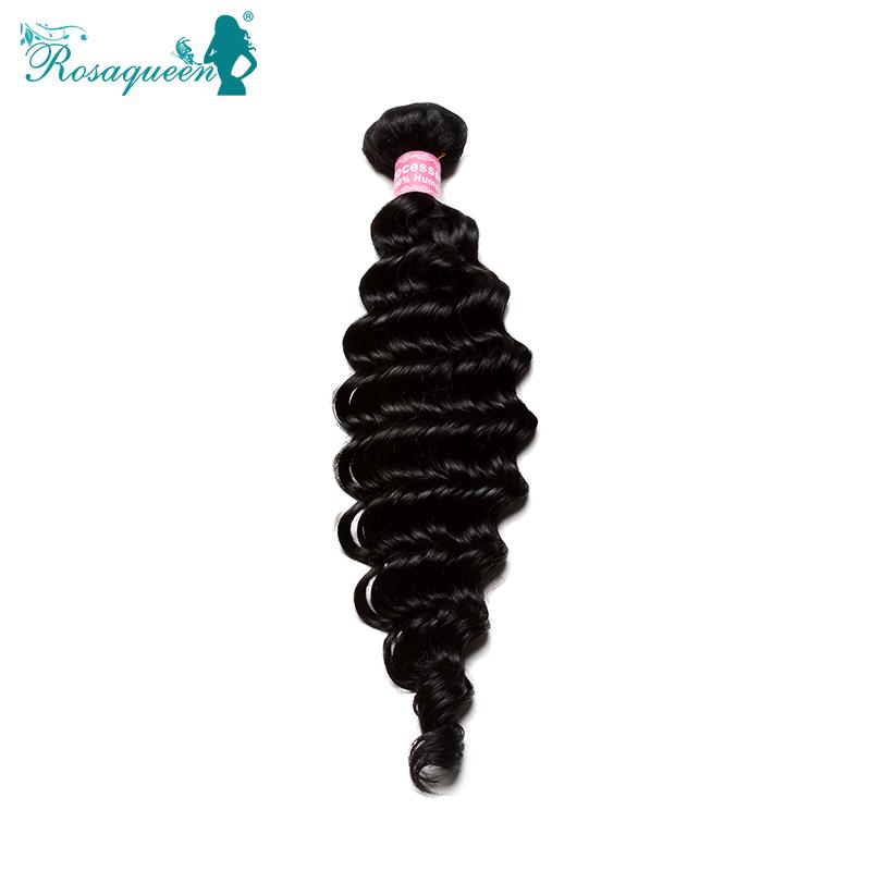 Brazilian Curly Virgin Hair 3Pciese Lot Cheap 5A Brazilian Virgin Hair Deep Wave Rosa Hair Products Human Hair Extensions