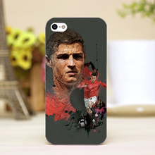 pz0018-2-1 for Cristiano Ronaldo Design cellphone transparent cover cases for iphone 4 5 5c 5s 6 6plus Hard Shell