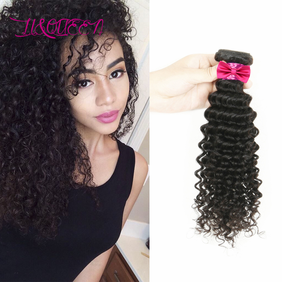 Top grade Rosa Hair products 1pcs/lot brazilian deep wave curly virgin hair weaving bundles ombre hair Extensions