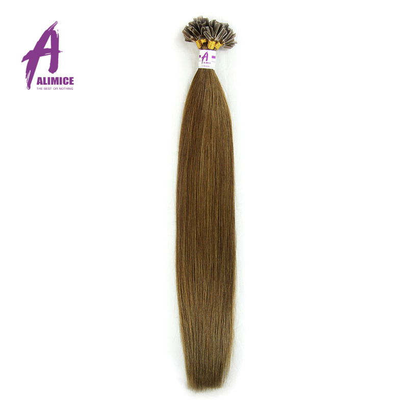 2015 New Arrival Keratin Nail Tip Indian Remy Hair 2g/Strand Fusion Human Hair Extensions U Tip Pre bonded Straight Hair<br><br>Aliexpress