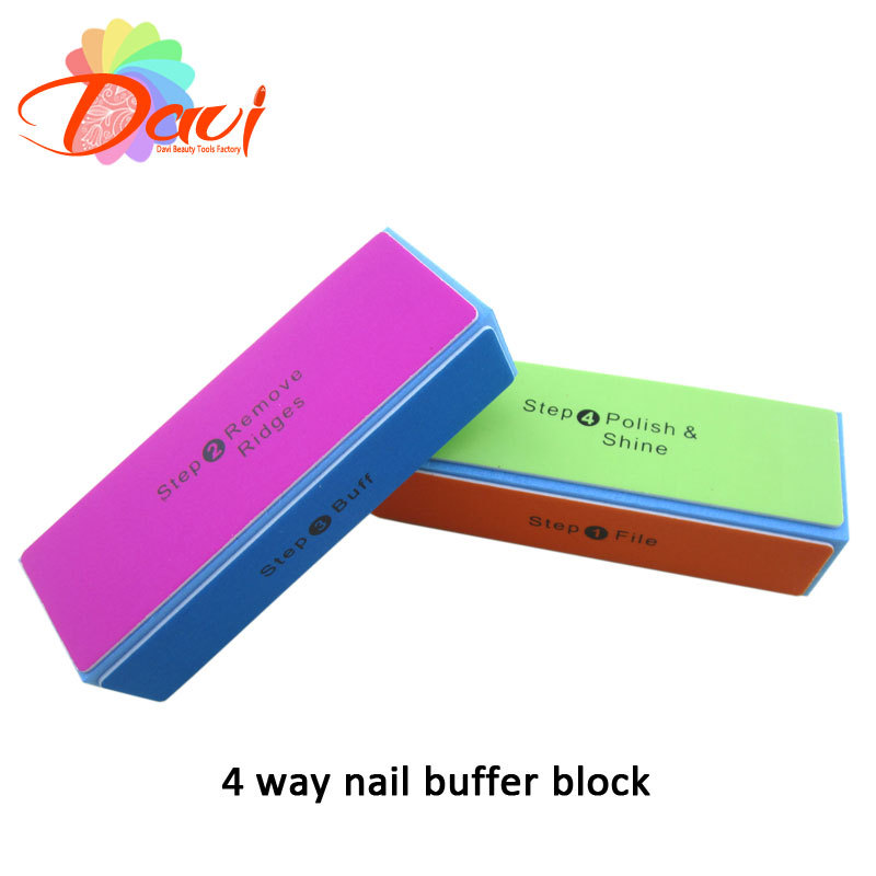 Consider salon nail buffers like our Star Nail White Buffer Block, which has all the grit needed to polish your nails to a dazzling high gloss shine. Use these professional nail buffer block products to smooth out bumps, rough spots and other irregularities.