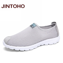Buy JINTOHO Unisex Summer Breathable Mesh Men Shoes Lightweight Men Flats Fashion Casual Water Shoes Brand Designer Male Beach Shoes for $14.99 in AliExpress store