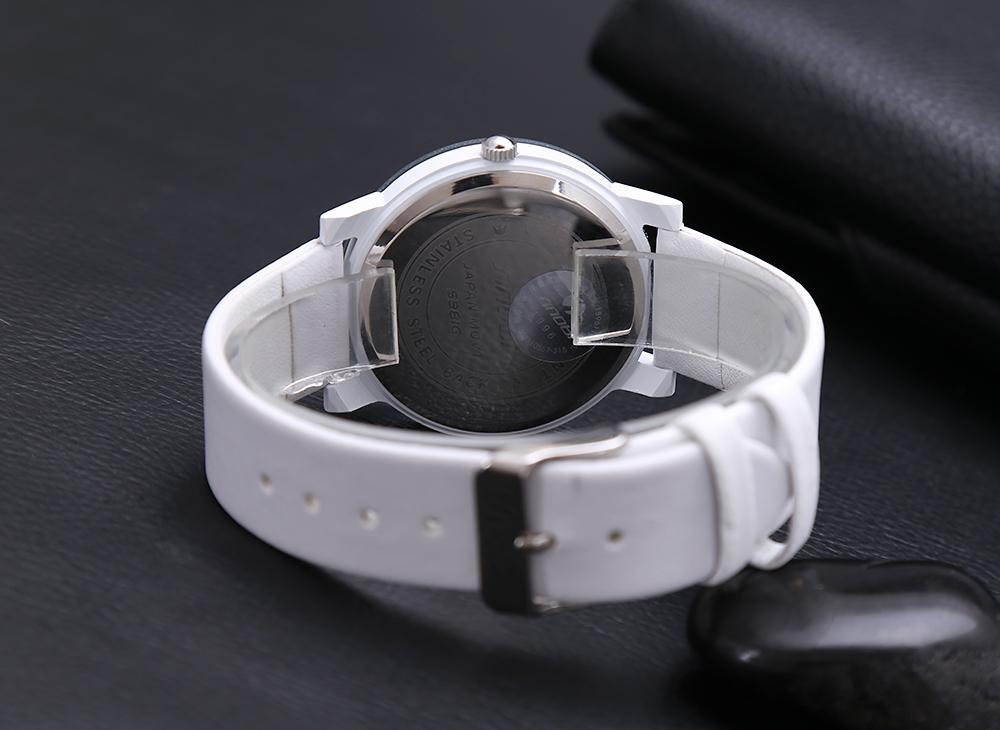 Лучшие продажи! sinobi кристалл алмаза серебро чехол элегантный все черные мужчины кварцевые наручные сувениров платье мужская кожаный ремешок часы