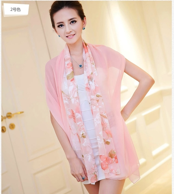 2013 New Arrival Autumn And Winter Silk Scarves, 160*50cm Fashion Hot Sale Pink Women's Silk Scarf Ultra Long Silk Scarf