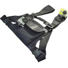 Buy SAQN Gopro Accessories New Gopro Chest Mount Bag Mount 2 camera GoPro Hero 4/3+/3/2/1 SJCAM Sj4000 Sj5000 Xiaomi Yi for $19.99 in AliExpress store