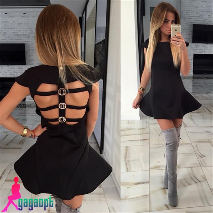 Платье с открытой спиной для девочки