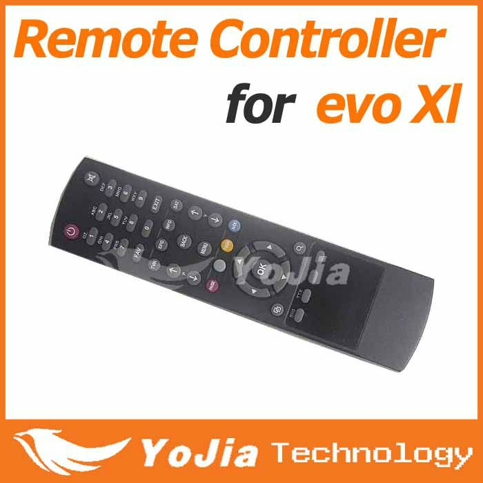 1pc Remote Control for Azbox evo xl satellite receiver free shipping post(China (Mainland))