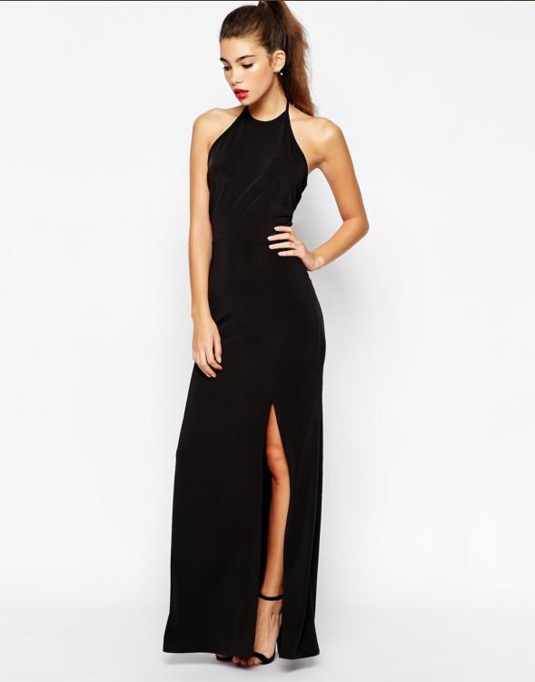 black maxi dress - Gowns and Dress Ideas